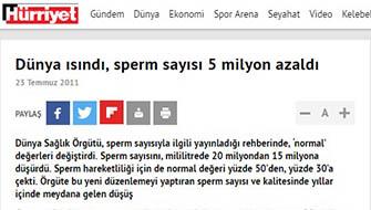 Sperm Sayısı Düşüyor mu?